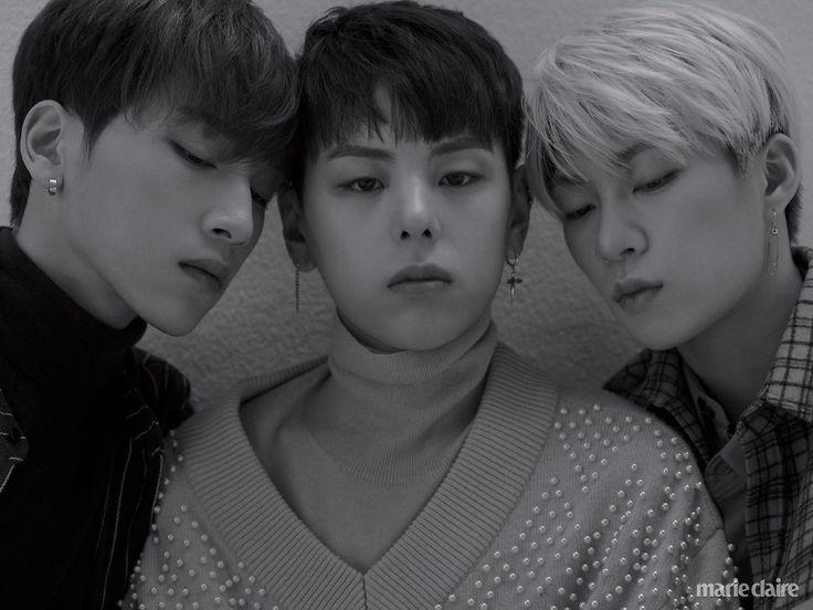 Wontak, Daehyeon, Hyunmin (Rainz) - Marie Claire Magazine December Issue '17