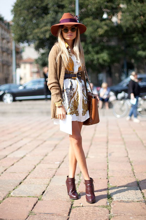 STREET STYLE SPRING 2013: MILAN FW - A Me-Decade moment in Milan.