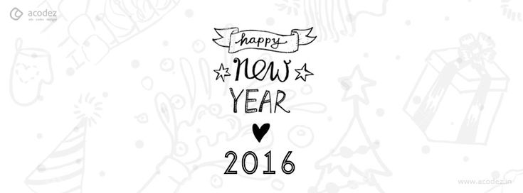 An awesome New Year wish - New Year Facebook Cover Photo 2016