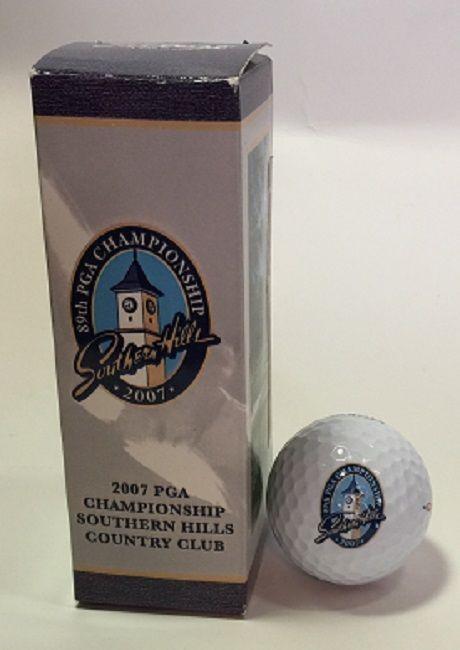 89th PGA Championship Southern Hills 2007 Titleist 1 Golf Balls 3 Pack #PGATitleist