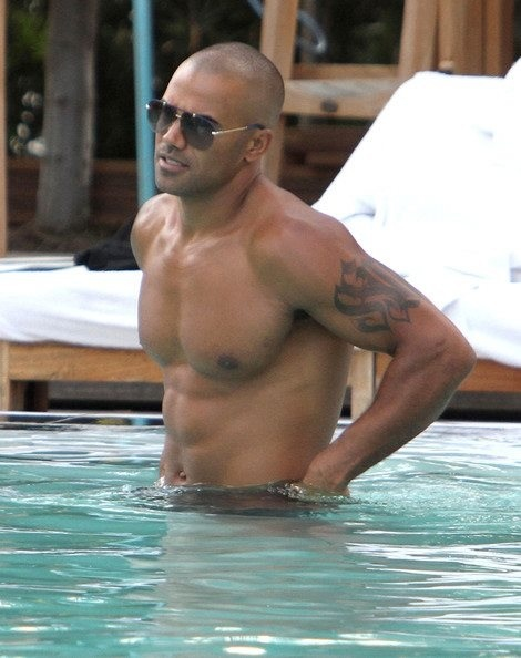 Moore...Guys Things,  Bath Trunks, Criminal Mindfulness, Hot Hot, Shemar Moore, Guysey Candies, Eye Candies, Swimming Trunks, Definition Yummy