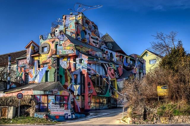 Hotel Spirit, Bratislava, Slovakia. Got to see this place.