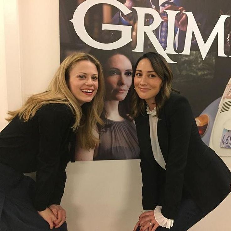 Claire Coffee and Bree Turner #GrimmGala2017 #Grimm #GrimmGala