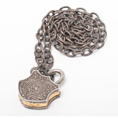 Sevan Bicakci, yellow gold and silver bracelet  www.dresscodebygita.com