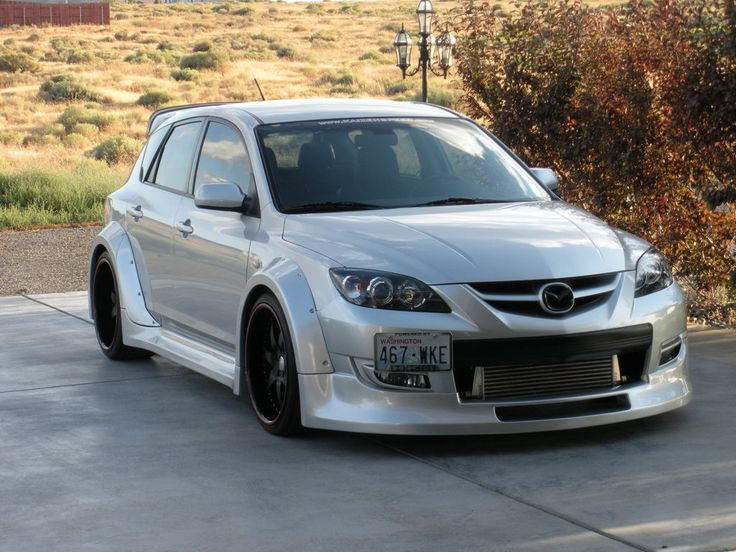Image gallery mazdaspeed 3 mods for Mazdaspeed 6 exterior mods