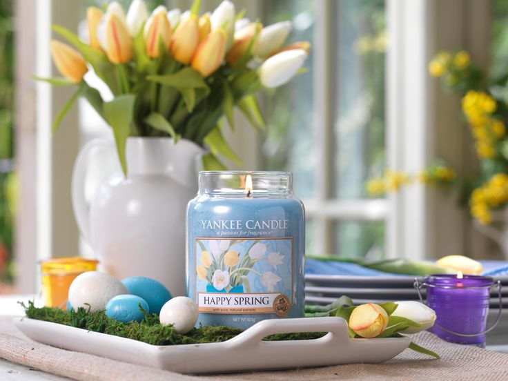 Happy Spring from Yankee Candle! Available now at Aroma Plaza on our second floor.