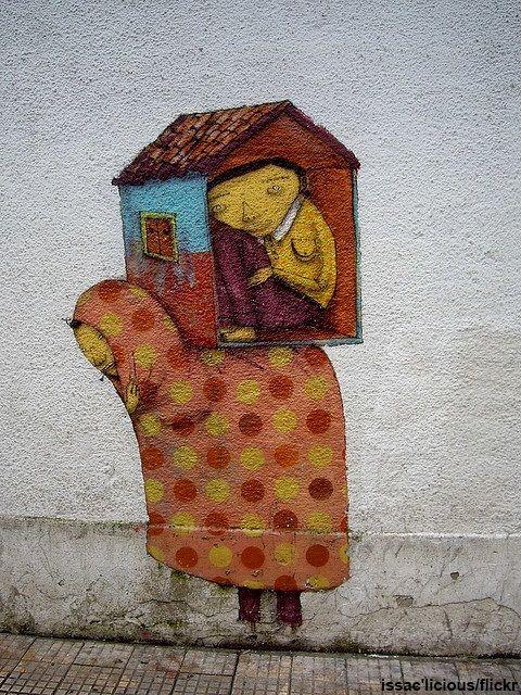 sao paulo street art | Sao Paulo Street Art/ Os Gemeos