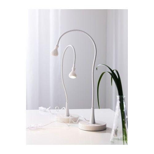 JANSJÖ Lampe de travail à LED - blanc - IKEA