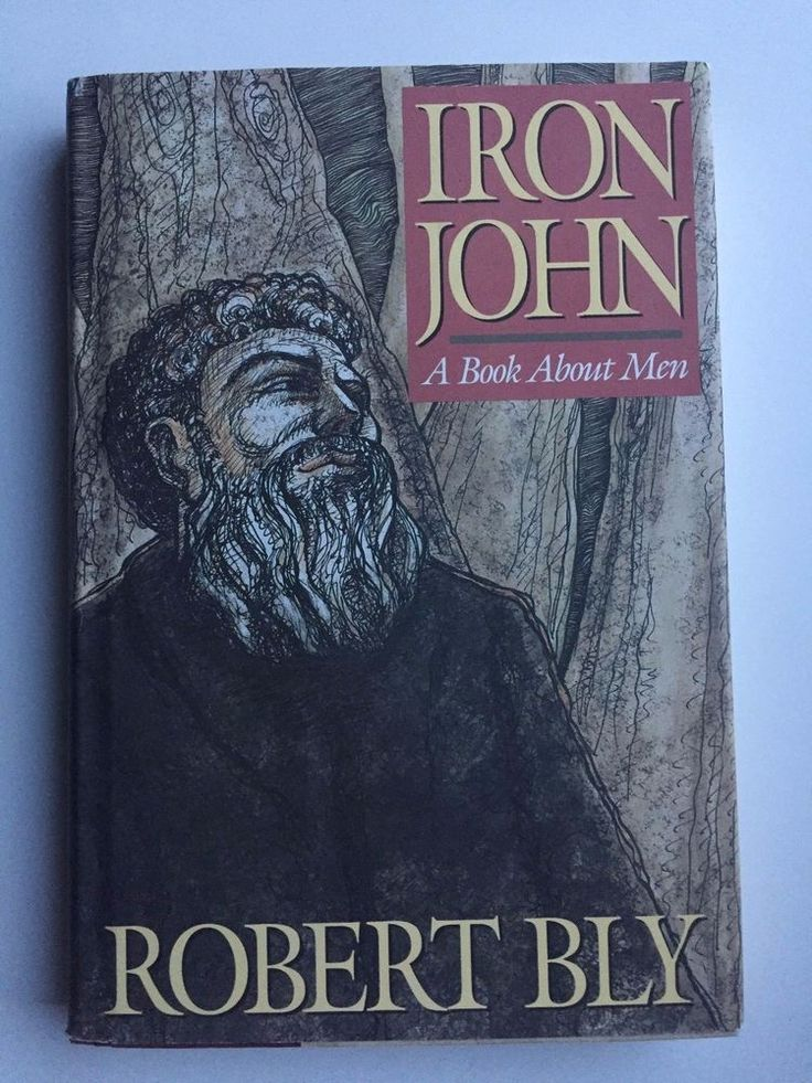 Iron John : A Book about Men by Robert Bly (1990, Hardcover)