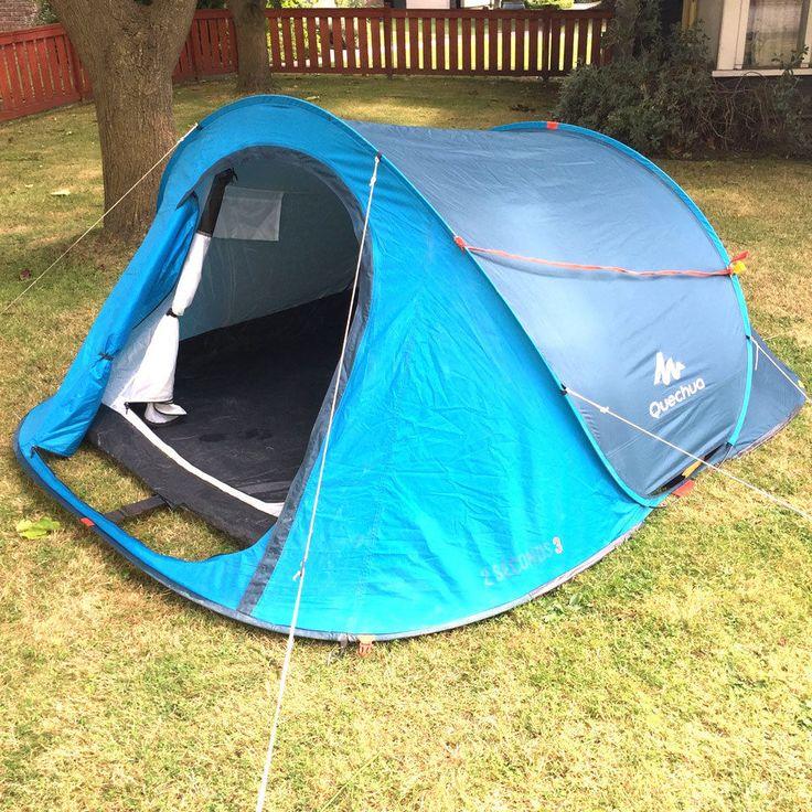 25 best ideas about tente 2 secondes on pinterest tente - Tente uv decathlon ...