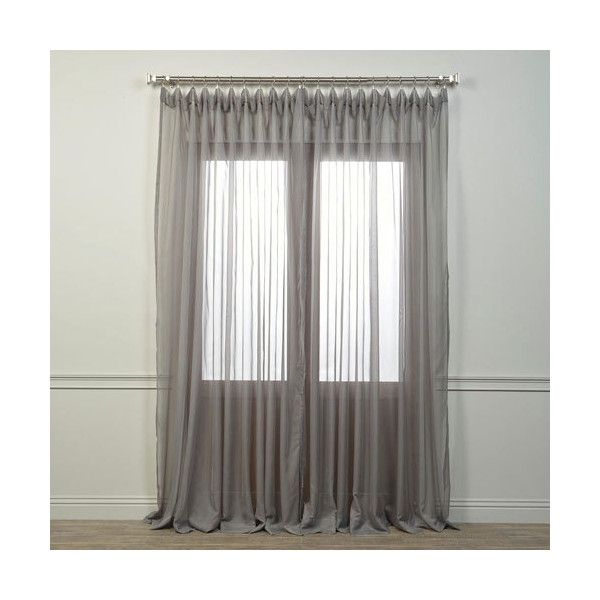 Gray Sheer Curtains, 100 Inch Wide Curtains