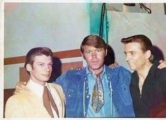 Leon Russell, Glen Campbell and Waylon Jennings