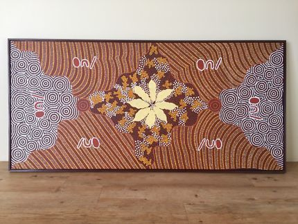 Aboriginal Dot painting | Art | Gumtree Australia Mandurah Area - Halls Head | 1146377129