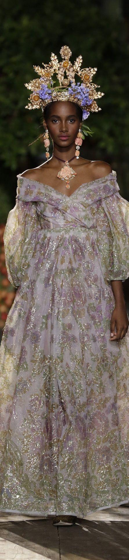 Dolce Gabbana Alta Moda Couture Fall 2015