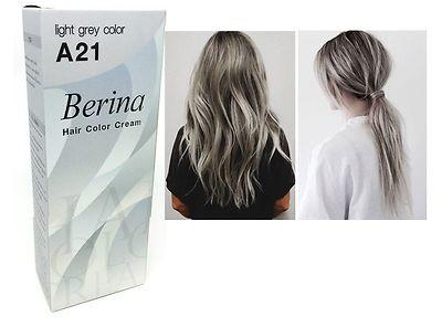 Berina-A21-Light-Grey-Silver-Permanent-Hair-Dye-Color-Cream-Unisex-Punk-Style