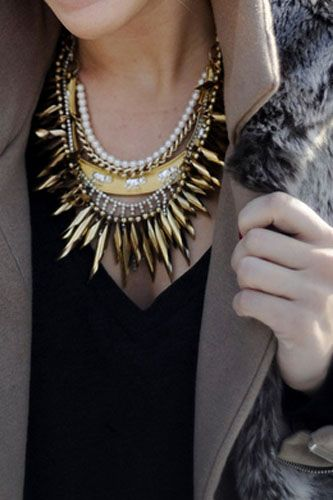 This necklace is doing everything it needs to do!