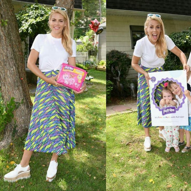29 juin 2017 : Busy Philipps à l'événement Pull-Ups #Time2PottyNYCsweeps Activation #actress #busyphilipps #cougartown