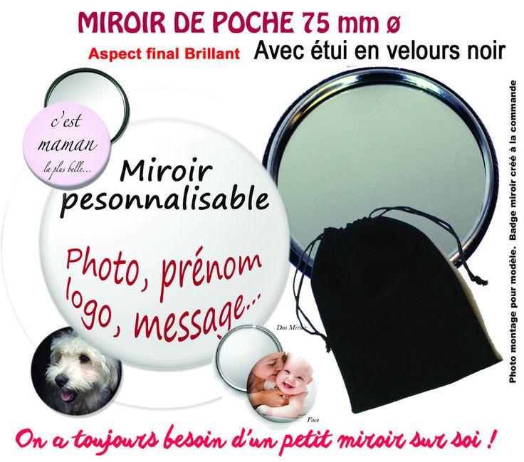 17 best images propos de miroirs de poche sac personnalis s sur pinterest bureaux tables. Black Bedroom Furniture Sets. Home Design Ideas