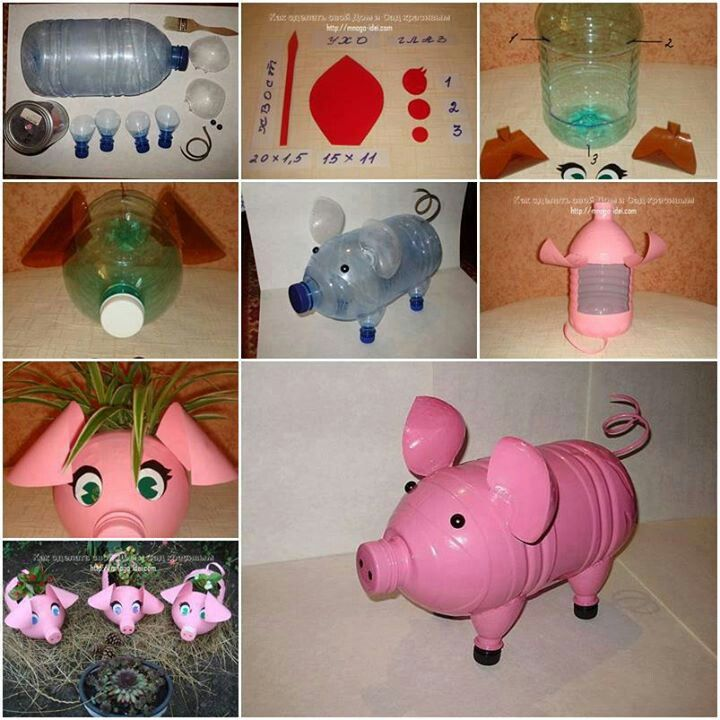 Make a piggy bank