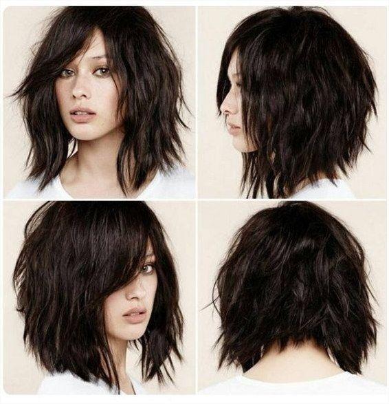 Kurze Shag-Frisuren für Frauen
