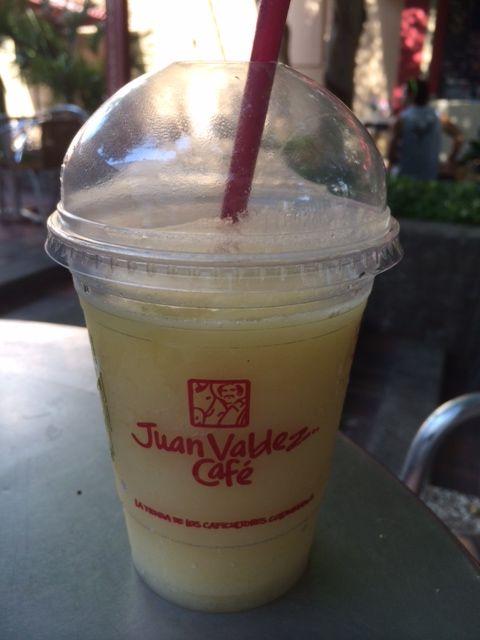 Mango icedrink