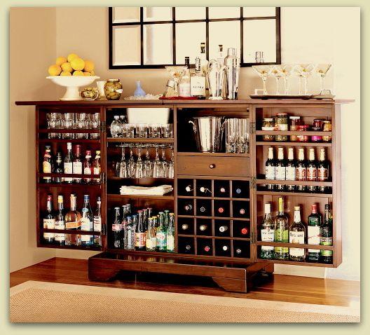 Lindo bar y practico para la casa es una buena idea - Bar para casa ...