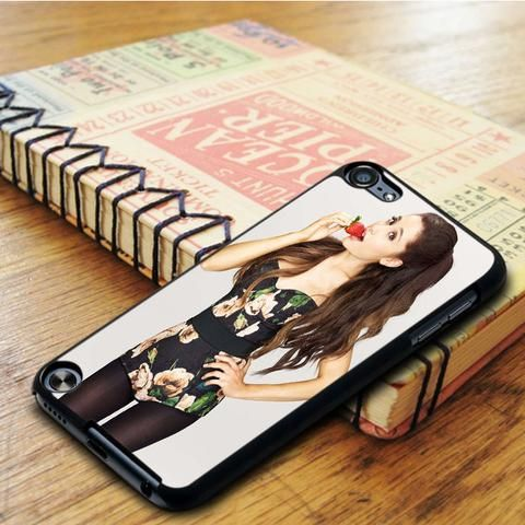 Ariana Grande Strawberry Singer iPod 6 Touch Case