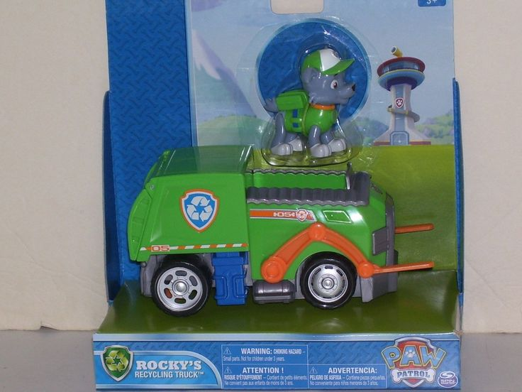 Nickelodeon Paw Patrol Vehicle Rockys Recycling Truck Brand New in Package