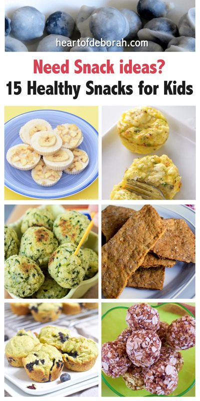 Stuck in a snack rut? Here is a list of 15 healthy snacks for kids. Your whole family will love these healthy bite-sized snacks.