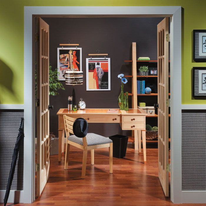 simple stunning fabric wall accent as a paint or wallpaper alternative nest and nook. Black Bedroom Furniture Sets. Home Design Ideas