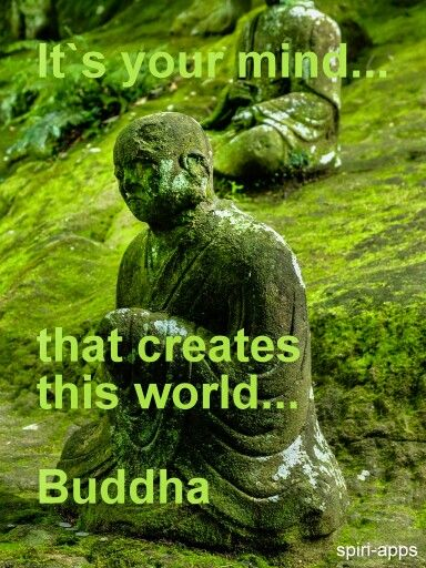 So, by changing your mind/thinking... you can change your world? Sounds true because it is!