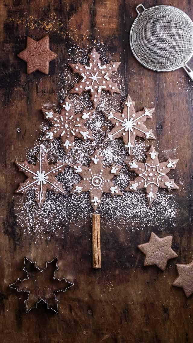 Weihnachten: Schokokekse