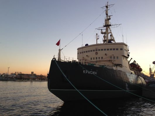 Krasin – One of the first ice breakers