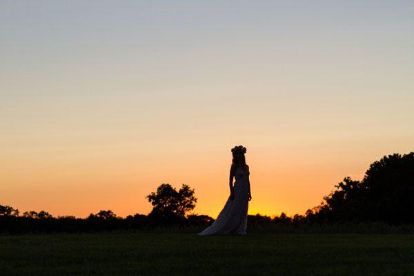 {Inspiration shoot} Una sposa bohémien
