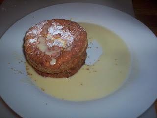 un pezzo della mia maremma: Soufflé di cantucci con gelato al marsala
