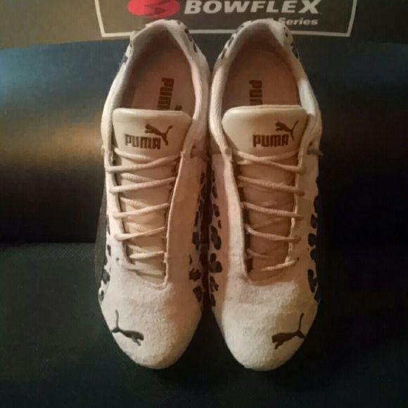 Puma Tennis Shoes Cheetah/Leporad Print Puma Shoes Athletic Shoes