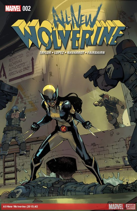 All-New Wolverine (2015) Issue #2 just read it. Very cool character!