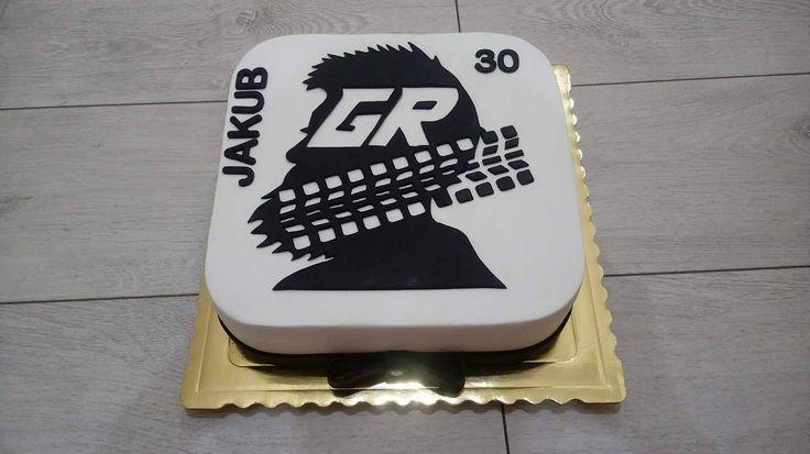 Tort z logo Grupy Rajdowej