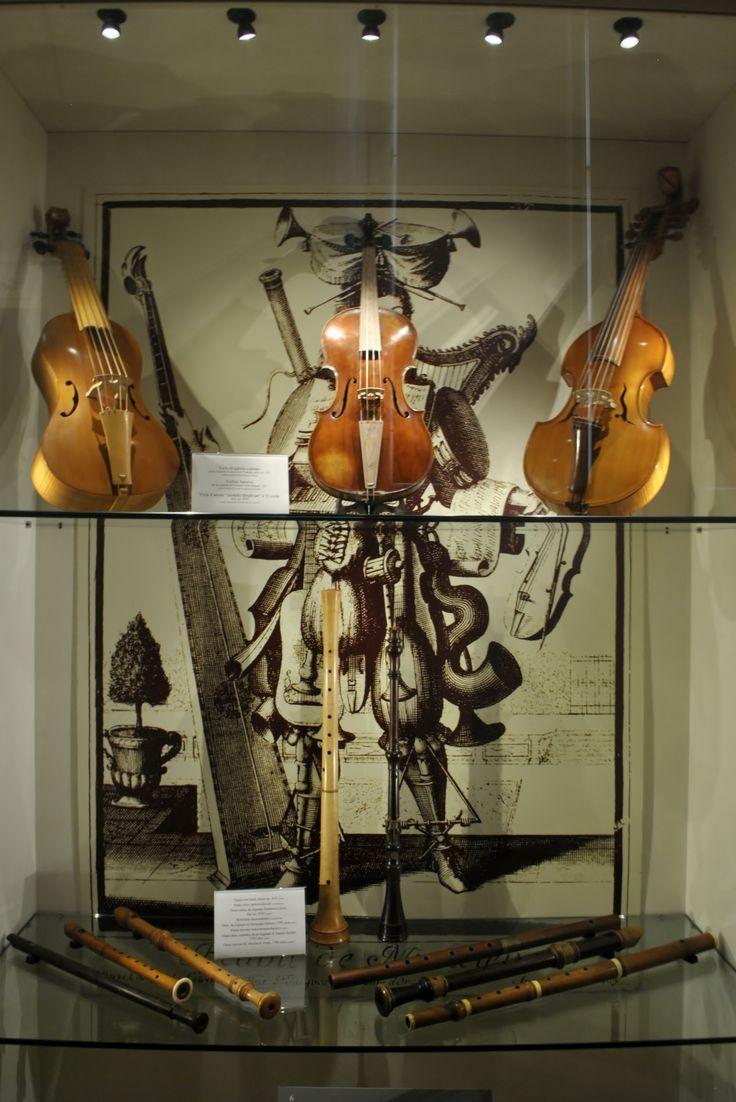 Violini alla Casa della Musica (Ph. Annalisa Andolina)