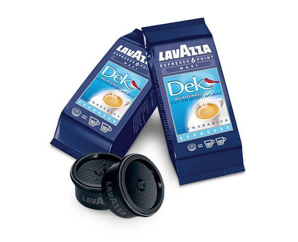 L'Alveare Del Caffè...Il Gusto Del Piacere, propone la qualità delle capsule dek Lavazza Espresso Point. Le capsule sono disponibili nel formato da 50 pezzi.