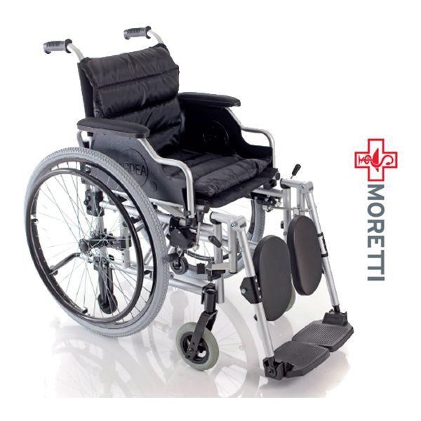 MCB703 - Fotoliu rulant pliabil cu actionare manuala, aluminiu vopsit - dimensiune sezut 40 cm http://ortopedix.ro/carucior-transport-actionare-manuala/190-mcb703-fotoliu-rulant-pliabil-cu-actionare-manuala-aluminiu-vopsit.html