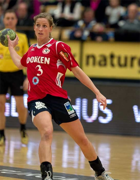 Anna Snorroeggen, handball player from norway
