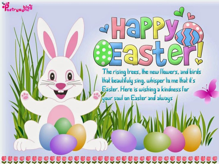Happy Easter Poems   Happy Easter Greeting eCard Pictures with Wishes SMS Messages