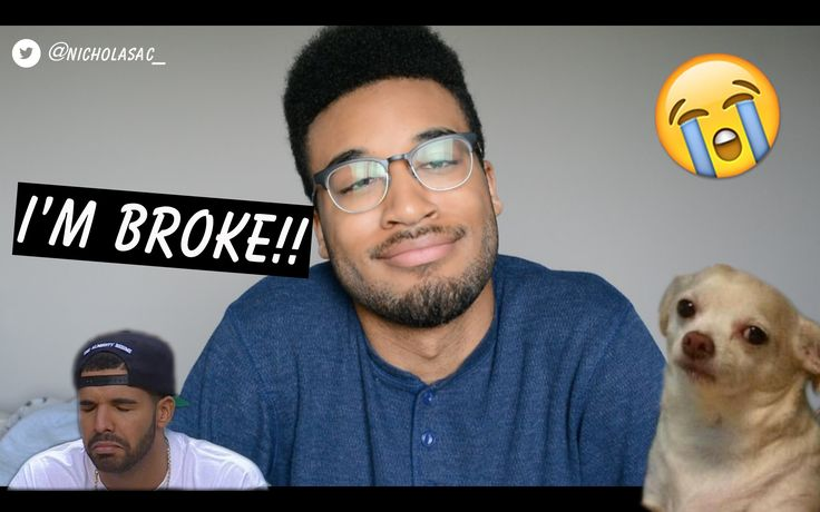 I'M BROKE!! | Nicholas Cross - YouTube