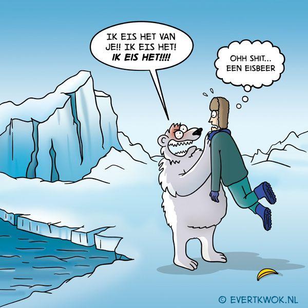 Ik eis het! #cartoon