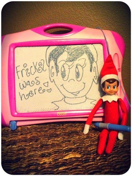 ... ELF ON A SHELF | Pinterest | Elf on the shelf, The elf and Shelves