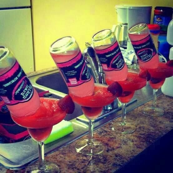 Ladies Night Favorites: Strawberry Mike-A-Rita   #Drinks # LadiesNight