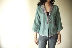 Batik casual top