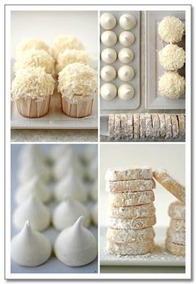 Foods for an All-White Party