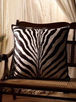 Ralph Lauren haircalf & leather pillow, $1350
